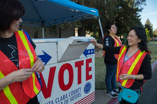 'Nothing Can Stop Me From Voting!': Bay Area Residents Hope to Make a Difference With Their Vote
