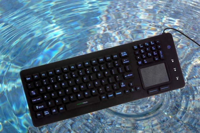 We Dare You to Find a Single Use for a Waterproof Keyboard