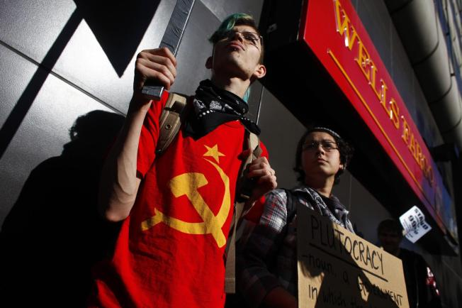 Occupy Oakland Shuts Down Wells Fargo Bank