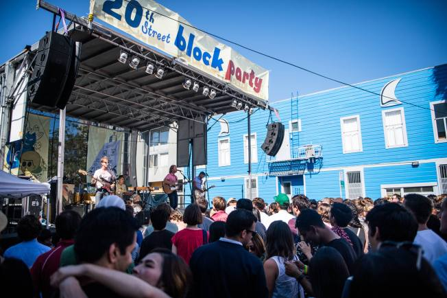 20th Street Block Party Returns to San Francisco