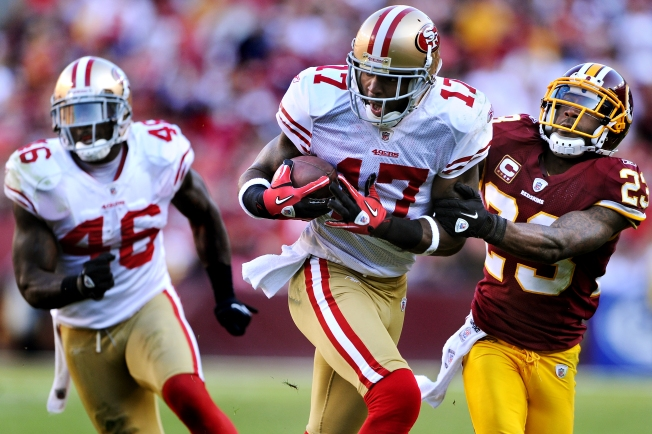 49ers' Edwards is Back, but Not Willis