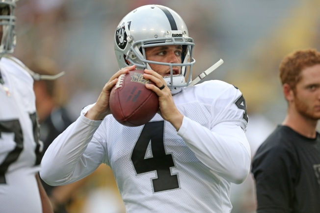Carr Eager for Playing Time vs. Seahawks