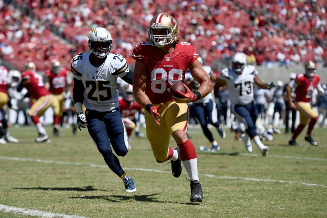 Niners Have Some Bright Spots in Victory Over Chargers