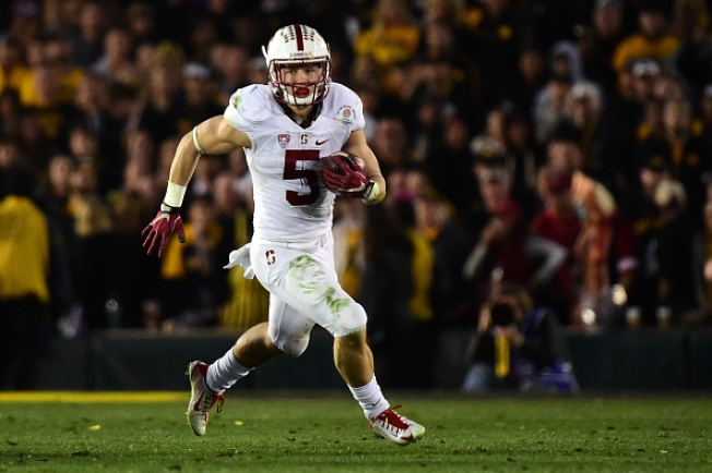 McCaffrey Leads Stanford's 45-16 Rose Bowl Romp Over Iowa
