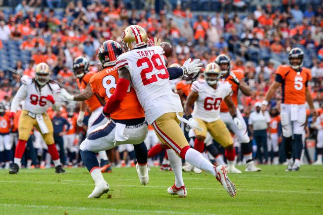 Niners Benefitting From Having a Healthy Tartt