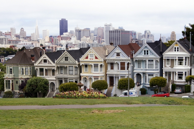 Tour Buses Banned From Alamo Square Painted Ladies Neighborhood