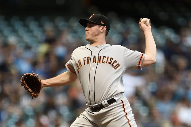 Blach Roughed Up as Giants Drop Another in Milwaukee