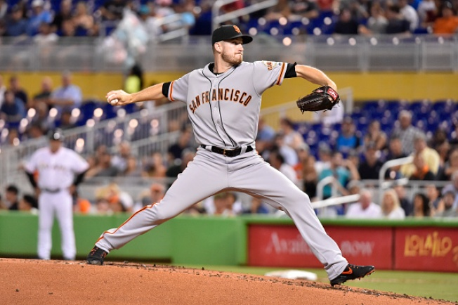 Stratton Solid, But Giants' Bats Silent in Loss to Marlins