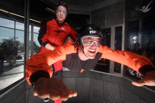 11/17: Indoor Skydiving and Jessica Fichot