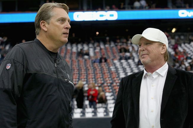 92033a001 Raiders Reportedly Eager to Extend Del Rio Contract - NBC Bay Area