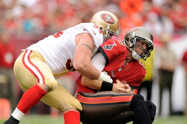 Justin Smith is Fully Armed for 2014