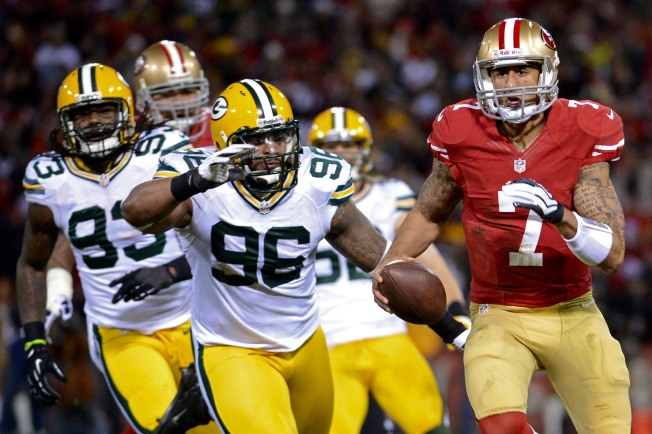Kaepernick's Fast, But Wants to be Faster