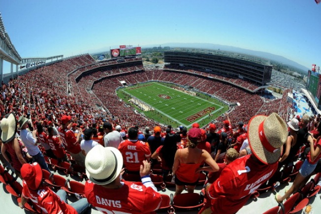 12 Arrested During 49ers' First Levi's Stadium Game