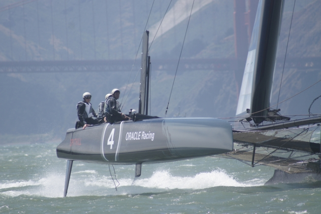 MC Hammer to Guest Race on Oracle Team
