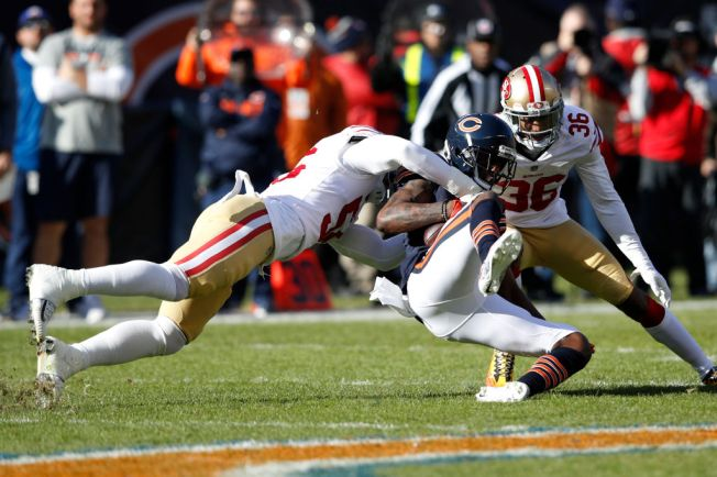 Foster is Leading 49ers' Improved Defense Against the Run