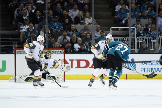 Sharks Bite Back, Rout Vegas in Game 4 of Conference Semifinal