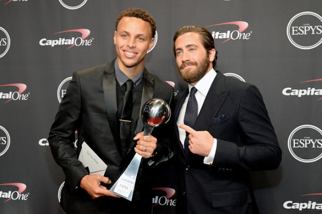 Stephen Curry Wins Best NBA Player, Best Male Athlete at ESPY Awards, Steve Kerr Wins Best Coach