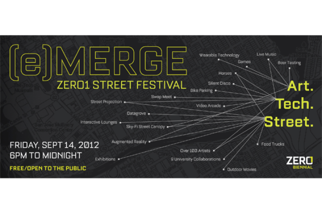 Come to the ZERO1 Street Festival!
