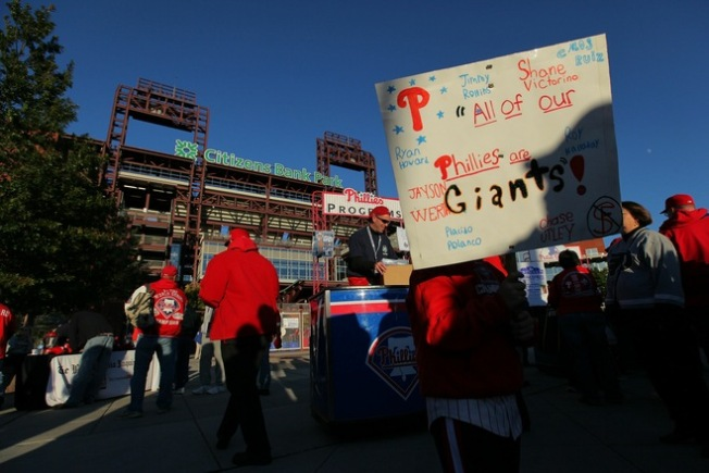 Play-By-Play: Giants vs. Phillies Game One