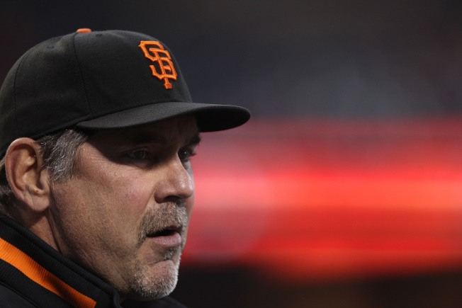 Bochy Tweaks Line-Up Once Again