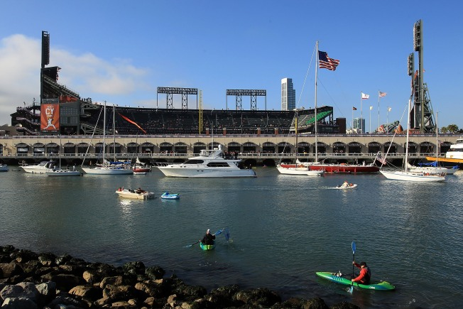 The Melt Food Truck Takes to McCovey Cove Waters