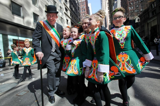 St. Patrick's Day Parade Draws Thousands to City