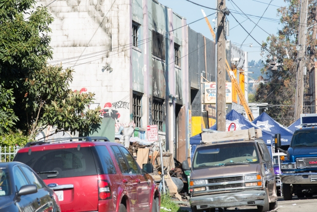 Chain-Link Fence Deterred Code Enforcement From Inspecting Oakland Warehouse