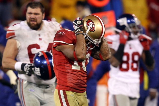 Two Giant Mistakes Doom 49ers in NFC Title Game