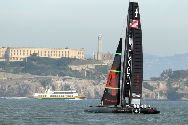 America's Cup Plans Approved by SF Board of Supes