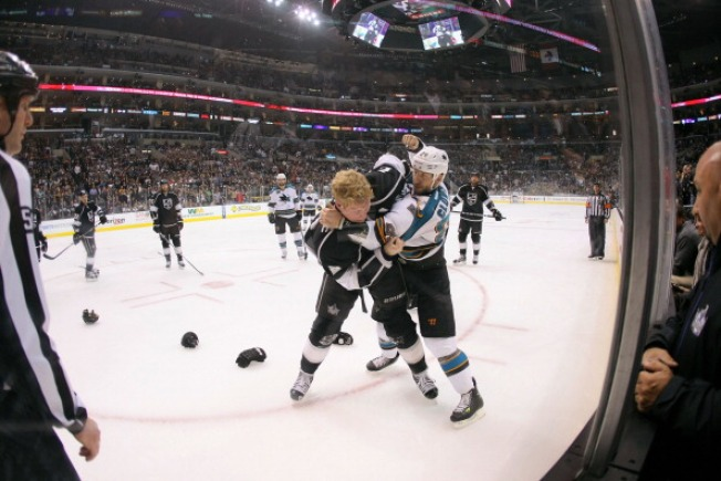 "No Penalty for Sharks' Ryan Clowe's ""Bench Assist"""