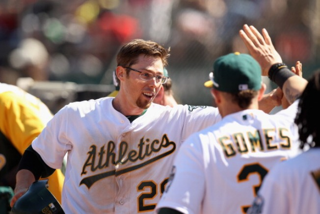 A's Back Ross on Birthday in 5-1 Win Over Indians