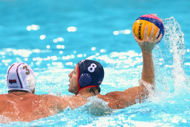 Bay Area Packed Water Polo Team Loses to Serbia