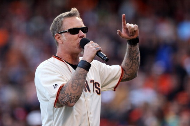 Exit Light, Enter Metallica Night at SF Giants