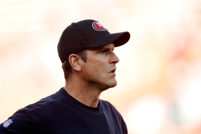 Harbaugh Eager for 49ers to Charge Into Season's Second Half