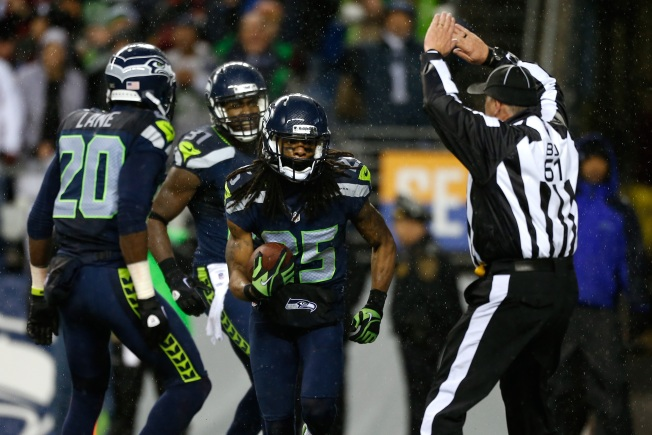 Seattle Rains Points on 49ers