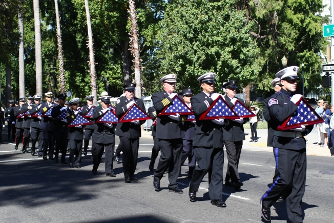Firefighters Marching At Capitol >> We Can Never Say Thank You Enough Fallen Firefighters Remembered
