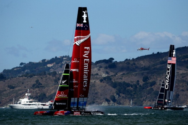 San Francisco Wants More America's Cup