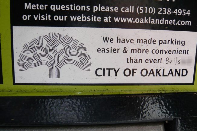 Oakland Actually Makes Popular Parking Change