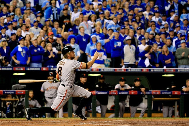 Twittersphere: Tracking the Giants in Game 1 of the World Series