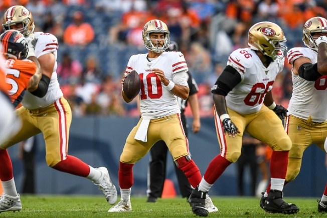 Garoppolo Flops in Debut, But 49ers Beat Broncos