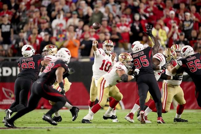 49ers Edge Cardinals to Remain Unbeaten at 8-0