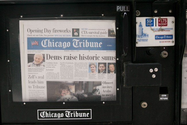 Chicago Tribune Files for Bankruptcy