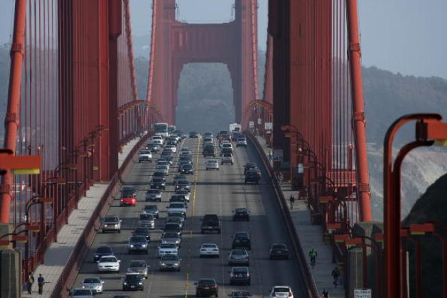 Construction Starts On Golden Gate Bridge