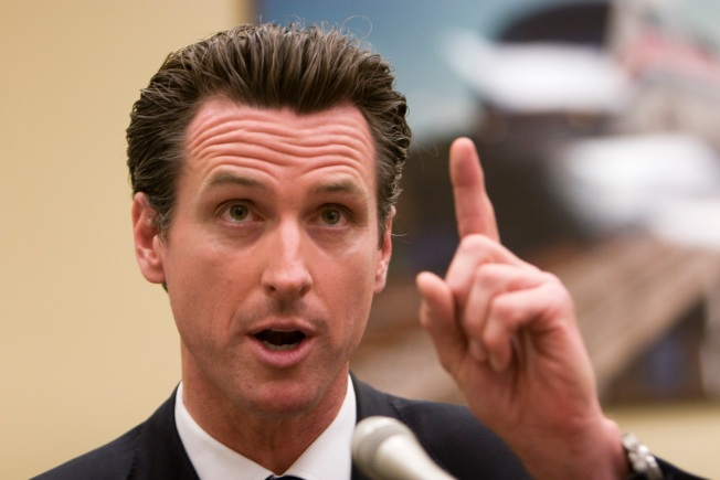 Newsom Defends Miss California