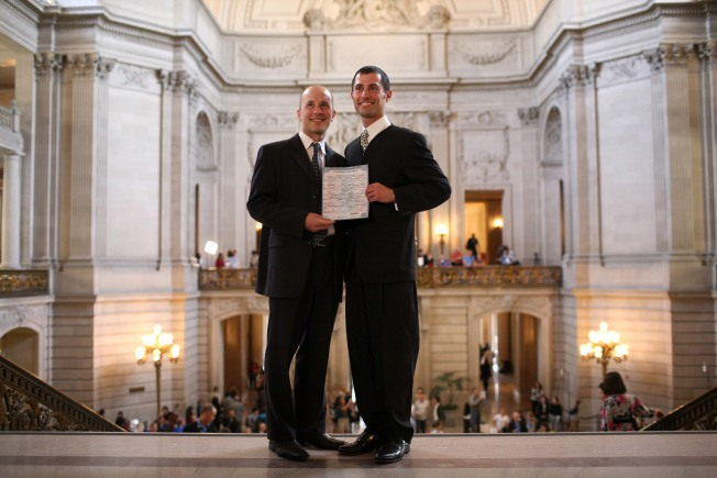 Same-Sex Marriages Remain on Hold