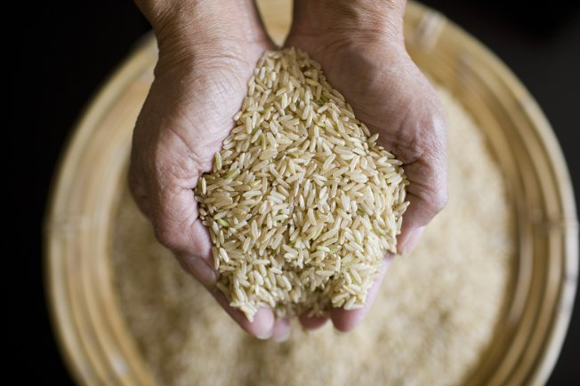 Police: Flying Box Of Rice Foils Robber