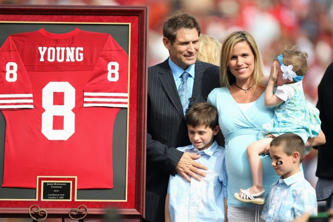 Steve Young's Wife Organizes Flash Mob for His Birthday