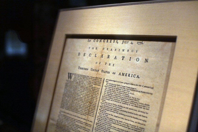 Error in Declaration of Independence: Scholar