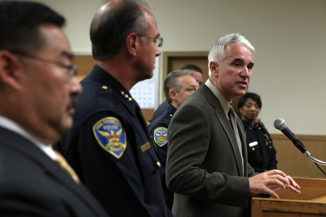 San Francisco's Top Cop Letting Problem Officers Walk