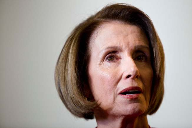 Pelosi: Who Me? Worried?